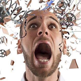 Stress damages teeth