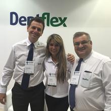Da esquerda para a direita esta o Diretor Tiago Seixas, a Representante Daiane Turki do RS e o Diretor Paulo H. Bis.