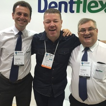 Da esquerda para a direita esta o Diretor Tiago Seixas, o Representante Josias Pedroso de SP e o Diretor Paulo H. Bis.