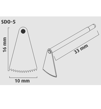 Micro Serra Oscilatória DSO 110