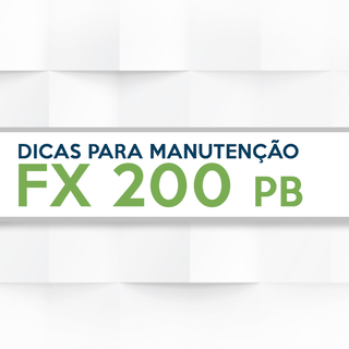 Caring for your FX 200 PB
