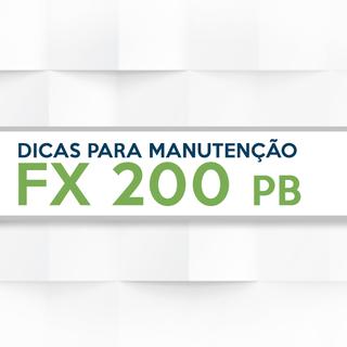 El cuidado de su FX 200 PB
